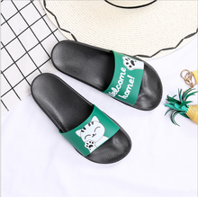 Womens Sandals Slip on Cute Outdoor Indoor Athletic Sport Slides Lucky Cat Slippers