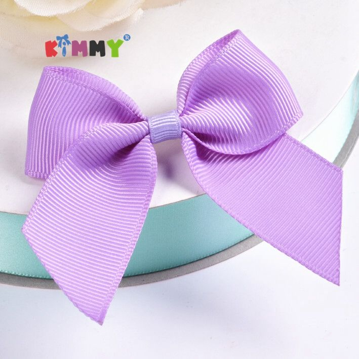 Latest Style Retail Black Premade Satin Ribbon for Bow Making Decorative