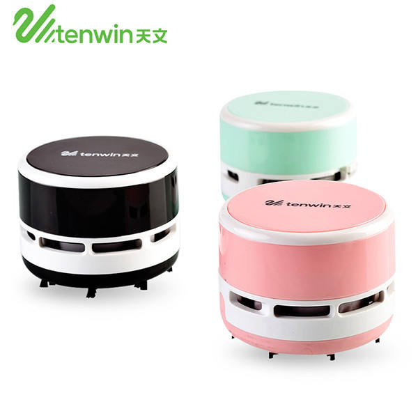 2018 promotional gift office Tenwin 8050 battery style desktop mini vacuum cleaner