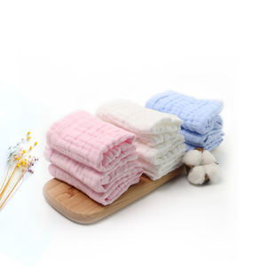 China cheap price 100% cotton muslin baby burp cloth