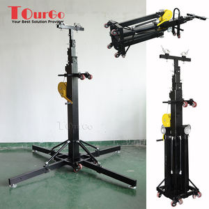 Tourgo Heavy Duty Truss Crank Stand 7m Height Stage Lighting Lift Tower