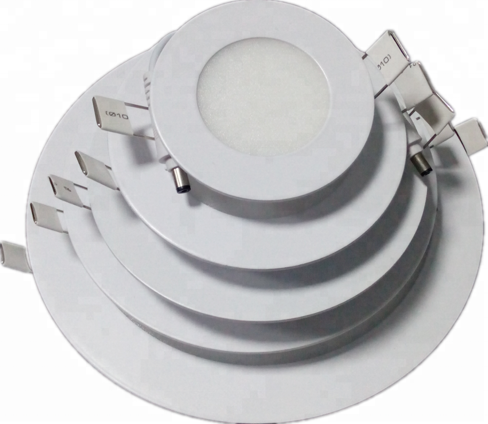 LED downlight 20W ultrafino led de panel plano 3000 K/4200 K/6500 K llevó la luz del panel
