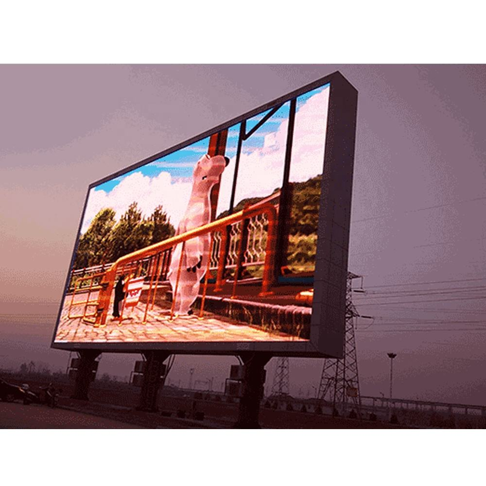 P8 P10 p16 big advertising screen double sides Full Color smd outdoor p10 LED display