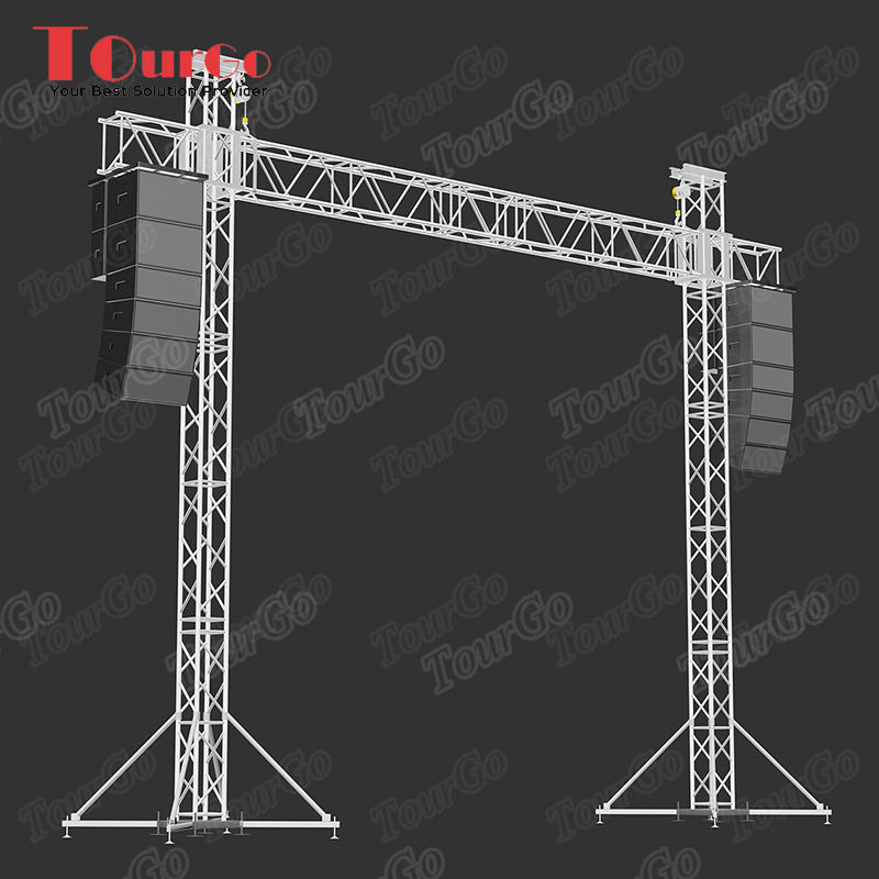 TourGo DJ Truss Aluminum Line Array Speaker Truss LED Screen Truss System