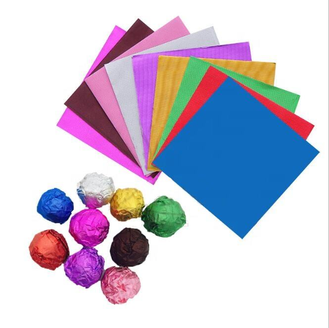 newest price wholesale candy wrapper aluminum foil paper