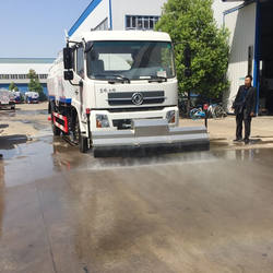 High pressure water for cleaning street,8000 liter road washer truck