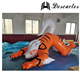 0.2mm PVC Custom Made Giant Inflatable Dog Animal For Promotional