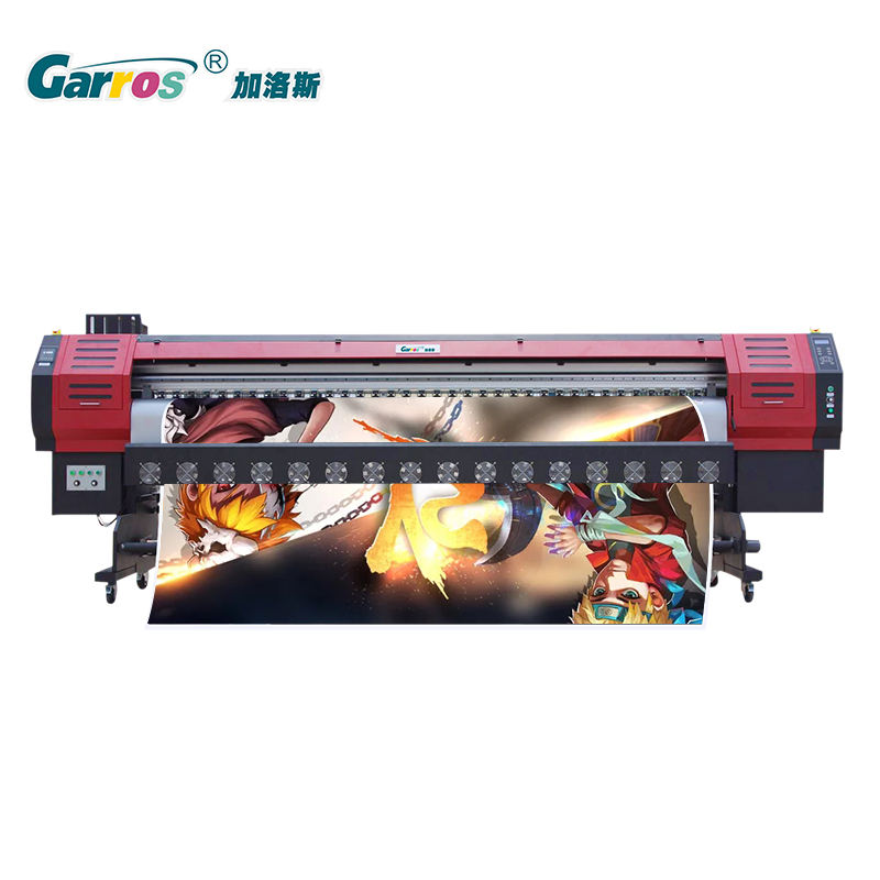 Garros 3.2m DX5 Heads Wide Format Roll to Roll Eco solvent Printer RT3202 for Soft Film