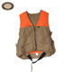 High quality tactical orange camo canvas hunting vest