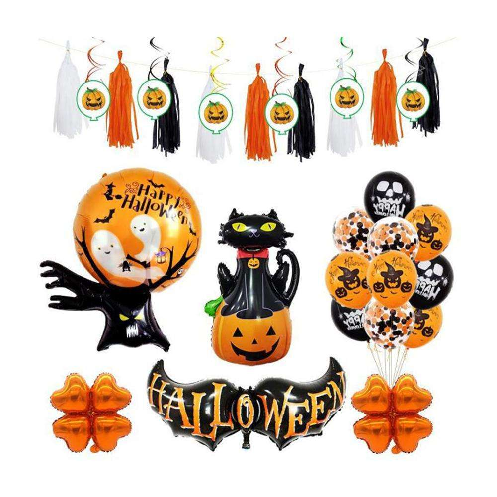 Nieuwe Producten 2019 <span class=keywords><strong>Party</strong></span> Supplieshappy Halloweenset, Halloween Ballonnen Feestartikelen Decoraties Halloween <span class=keywords><strong>Party</strong></span> <span class=keywords><strong>Set</strong></span>