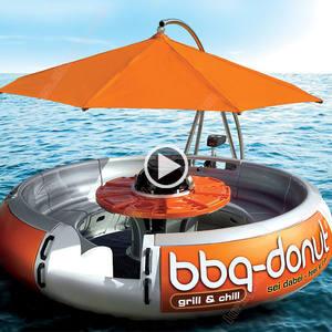 Ontdek de fabrikant Bbq Donut Boot Te Koop van hoge