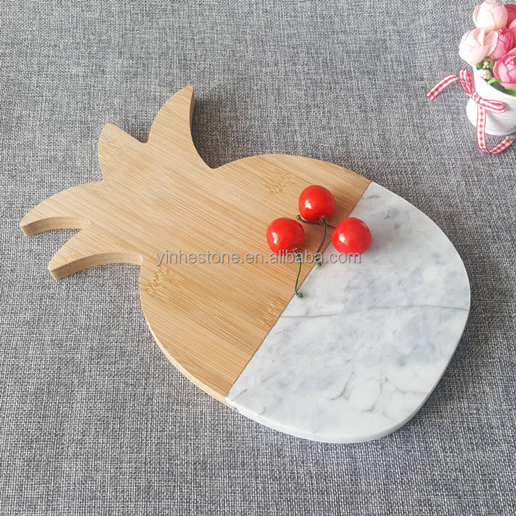 Custom Cutting Papan Marmer <span class=keywords><strong>Keju</strong></span> Cutting Chopping Board dengan <span class=keywords><strong>Kayu</strong></span> Bambu