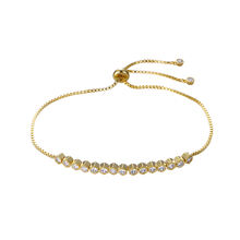 75336 xuping charm 24K gold crystal bracelet jewelry for women