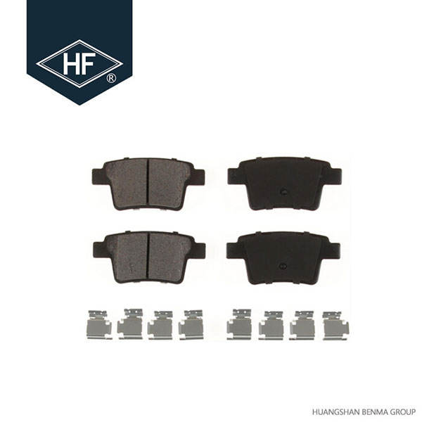 REAR CERAMIC BRAKE PADS FOR FORD FREESTYLE 2005 2006 2007 D1071