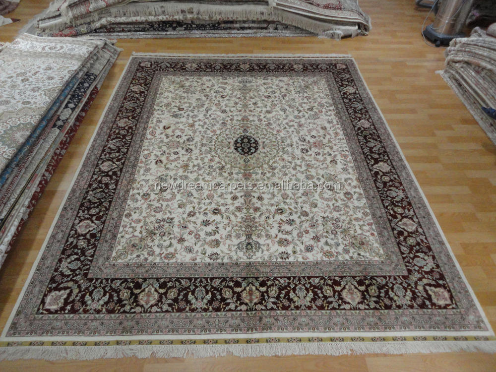 Luxury Hand Made Carpet Rug Customized Wool Silk Carpet Rug