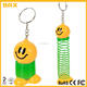 custom your own design Smiley Spring Keychain manufacturer