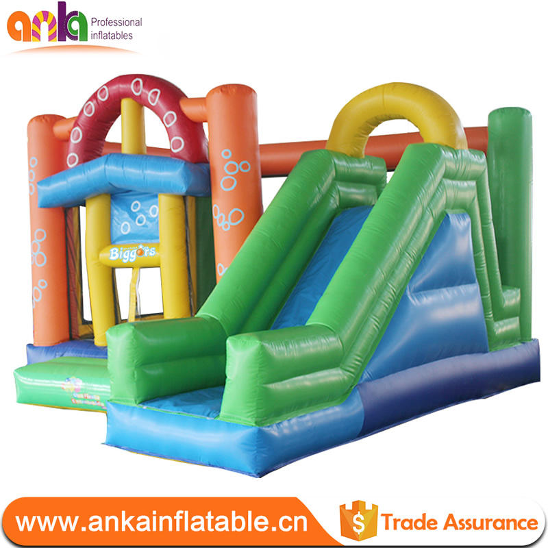 Customized giant inflatable bounce castle game jumping bouncy castle playground tent , children water slide for kids