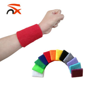 Cổ tay Sweatband-Thể Thao Cotton Terry Vải Dây Đeo Cổ Tay cho Thể Thao