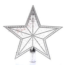 Best Selling 2020 Christmas Tree Topper Star Xmas Decoration Supplies