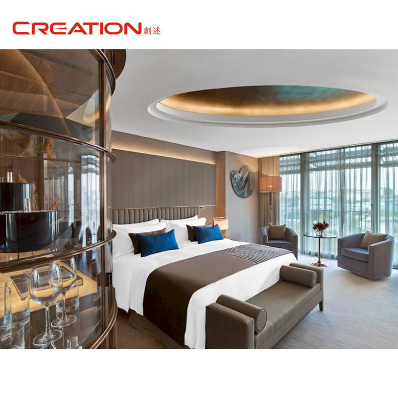 Creation best price good quality customized furniture hotel headboard