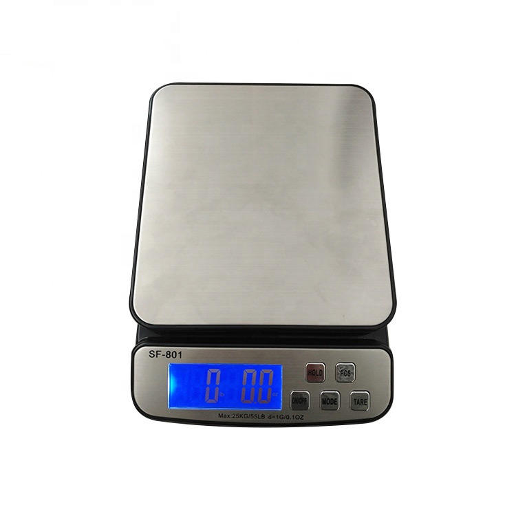 sf801 30kg 50kg 66lb 110lb 1g Portable Digital Weighing Scale Digital Weight Parcel Scale kitchen weighing scale 30 kg