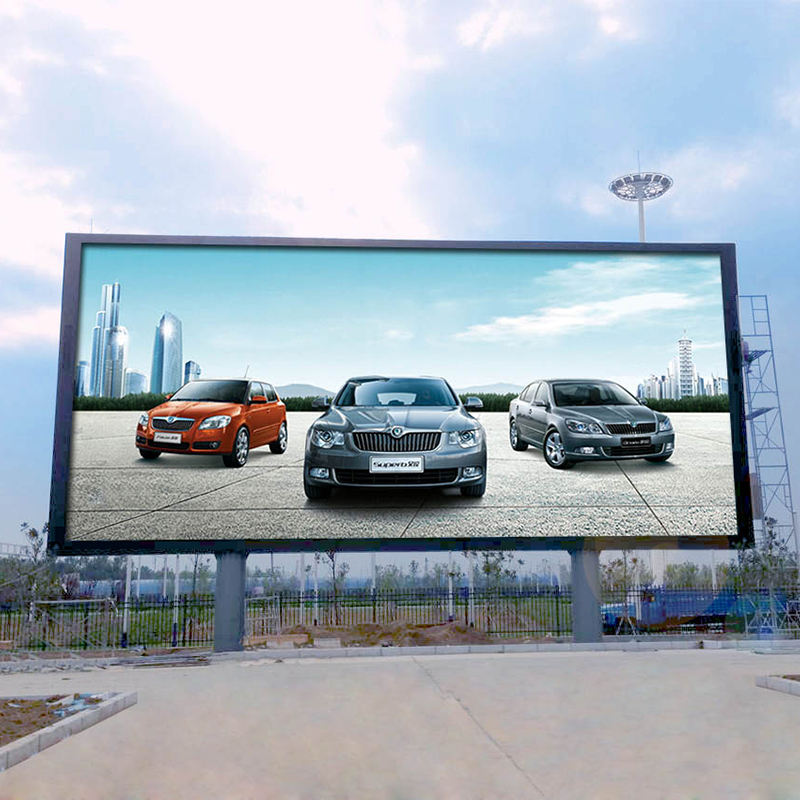 China made cheap price outdoor advertising display led screen