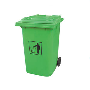 HDPE Outdoor plastic dustbin/waste bin/garbage container