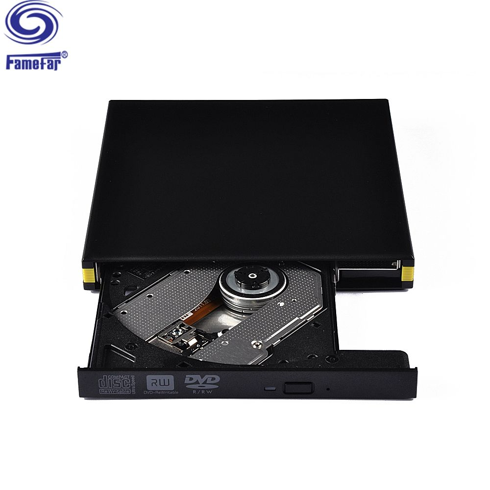 China factory supplied top quality External USB3.0 duplicator dvd cdr RW CD Burner Writer