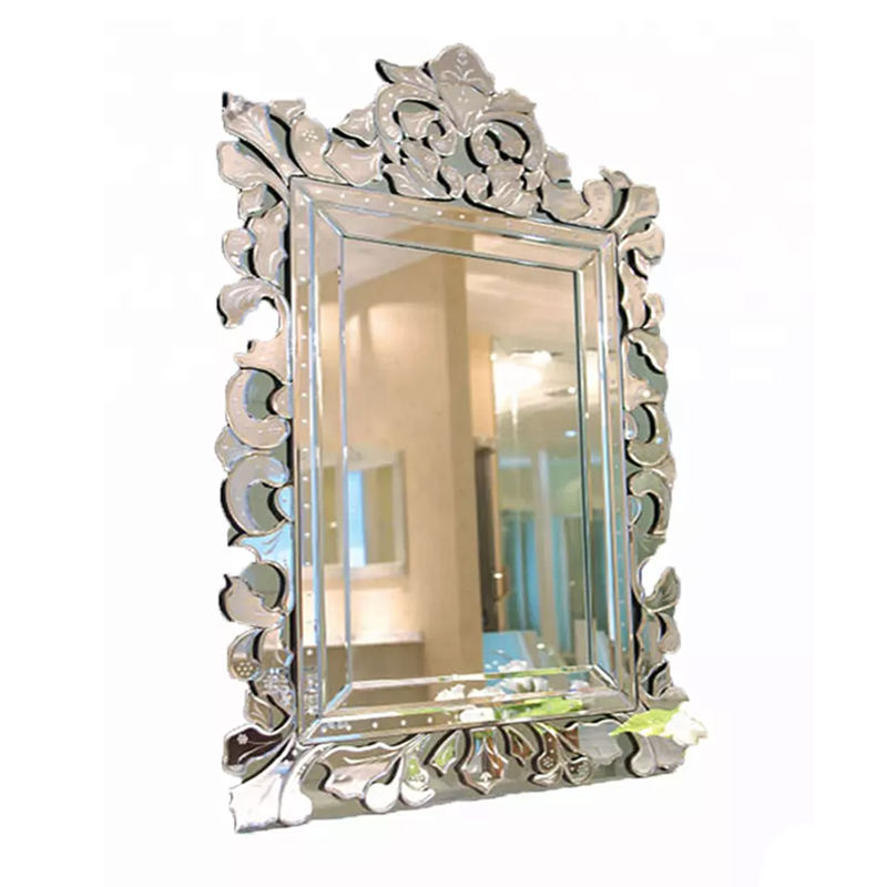 Decorative Wall Venetian Style Hanging 3D Square Mirror