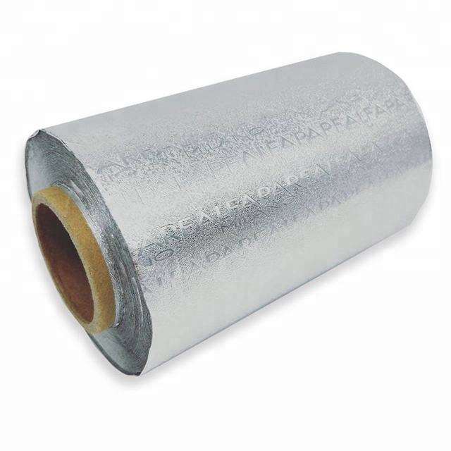 Factory colored hairdressing aluminium foil roll or sheet for hair salon beauty