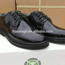oxford sole high-gloss military uniform shoes/office shoes
