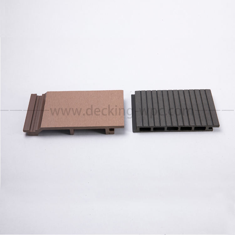 Anti-UV wood plastic composite wall panel wpc cladding