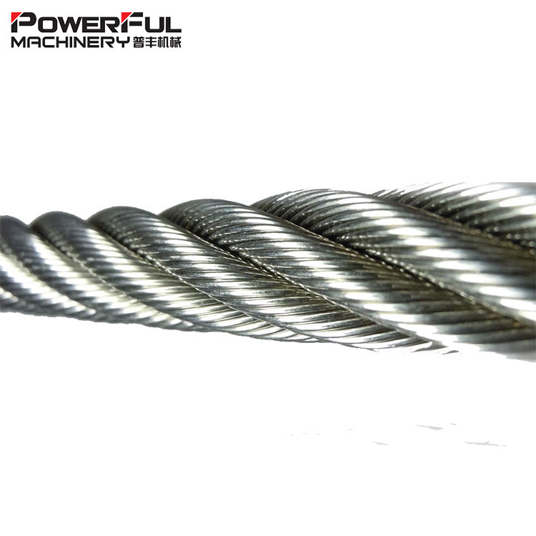 Custom Carbon Fiber Steel core Wire Rope