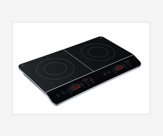Double burner induction cooker / cook top hob induction / built in type of induction hob