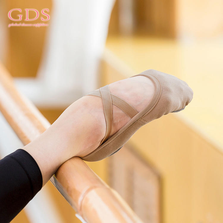 Foldable High Stretch Ballet Women Dance Shoes
