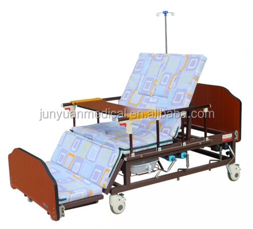 manual medical hospital bed home care bed nursing bed