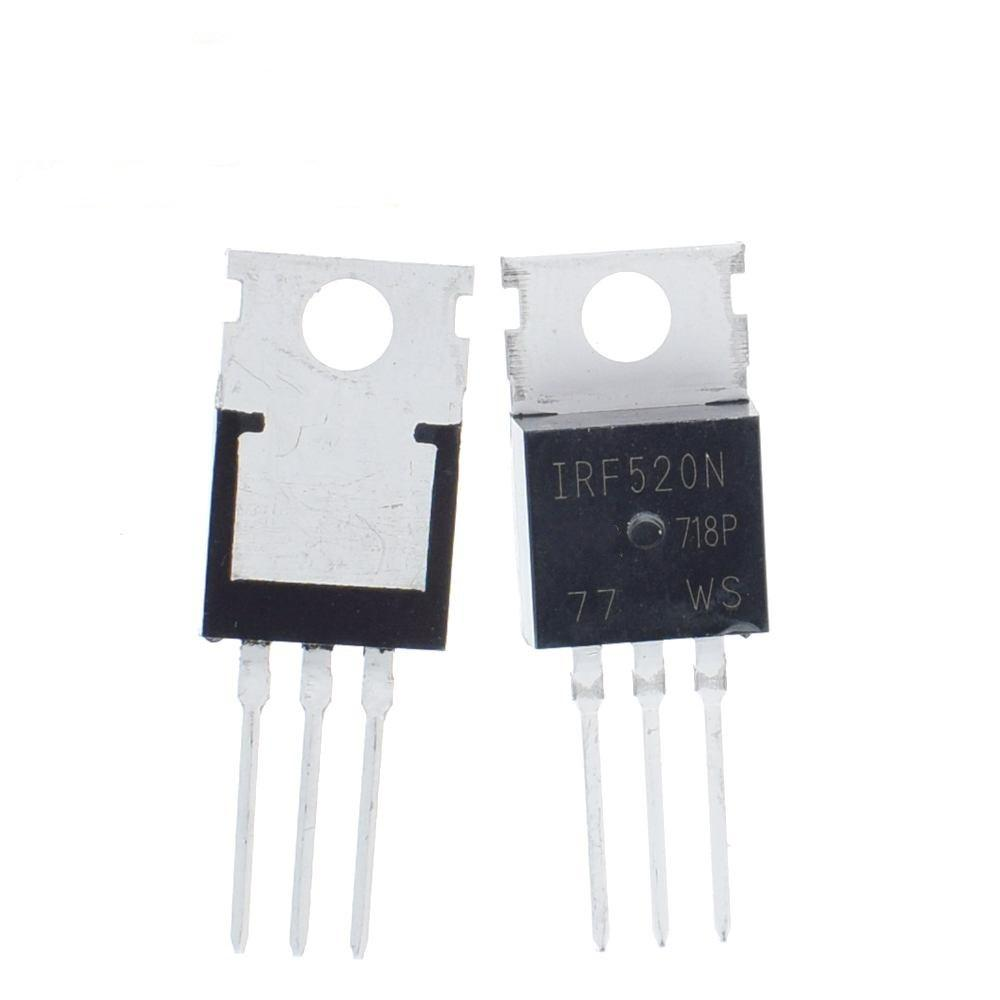 Irf520n Transistor N-MOSFET 100v 9,7a 48w to220ab
