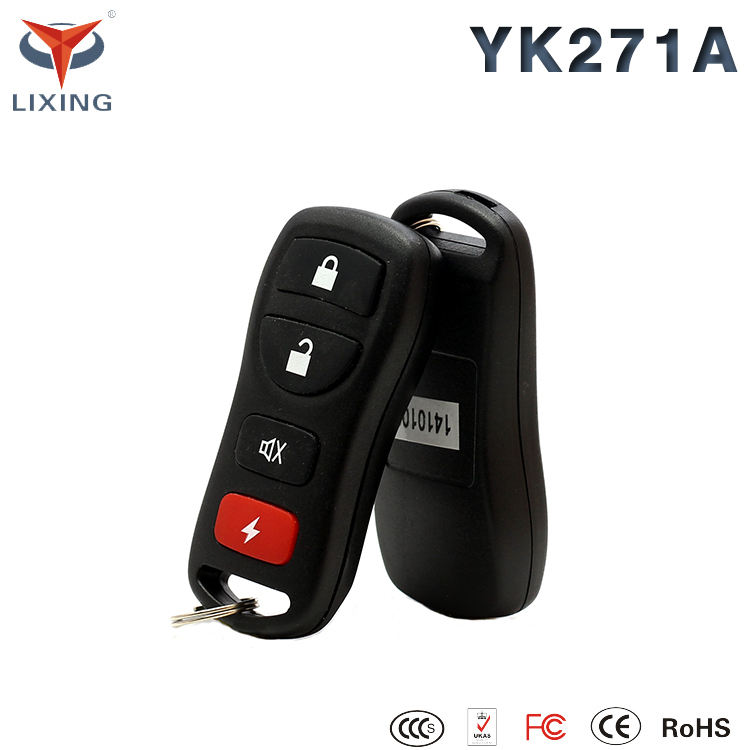 Lixing Universal car alarm system duplicate Fobs keyless entry central door locking