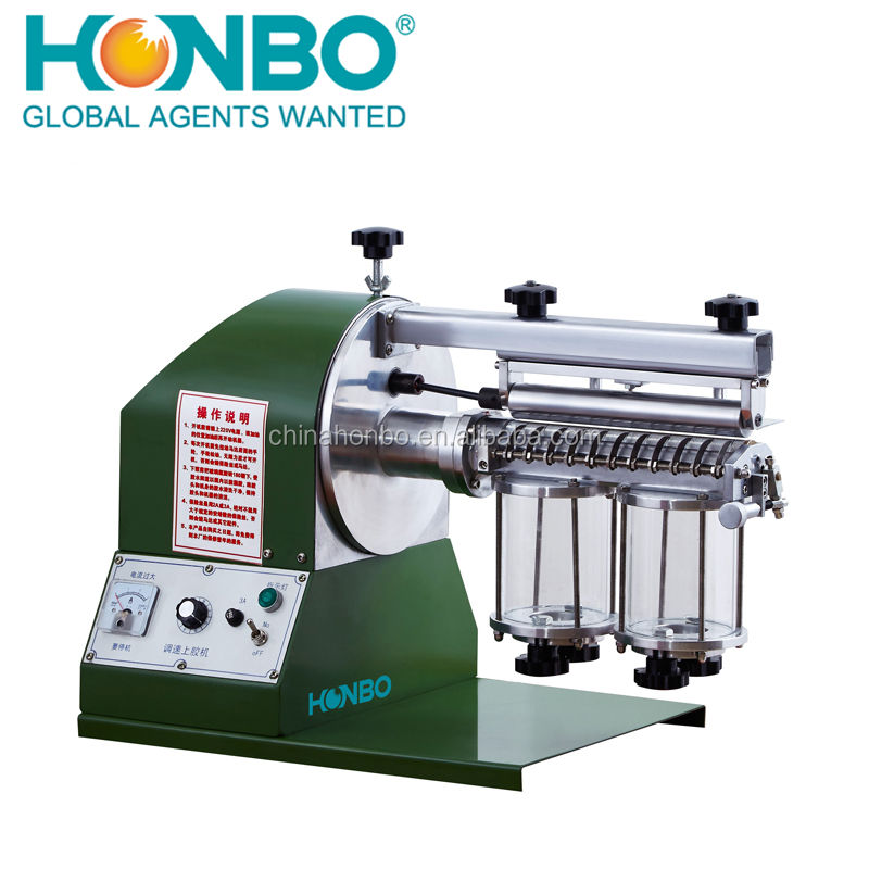 High Output HB-300-2S shoes sole industrial leather gluing machine
