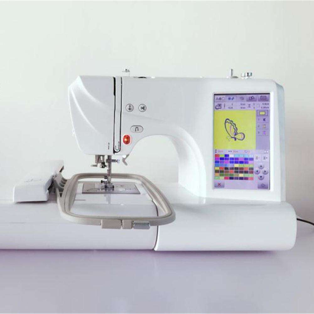 Household computerized home use sewing machine industrial embroidery machine for sale