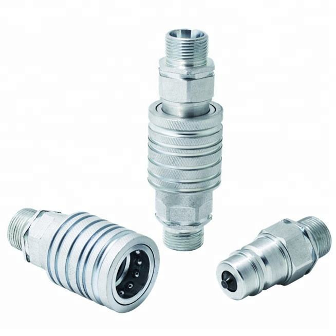 BSP NPT thread hydraulic quick release coupling quick fittings