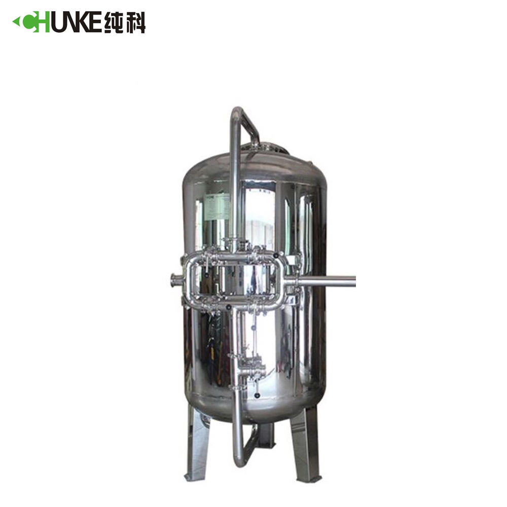 Activated Carbon and Quartz Sand Multimedia Filter / Mechanical Filter for Well Water Treatment