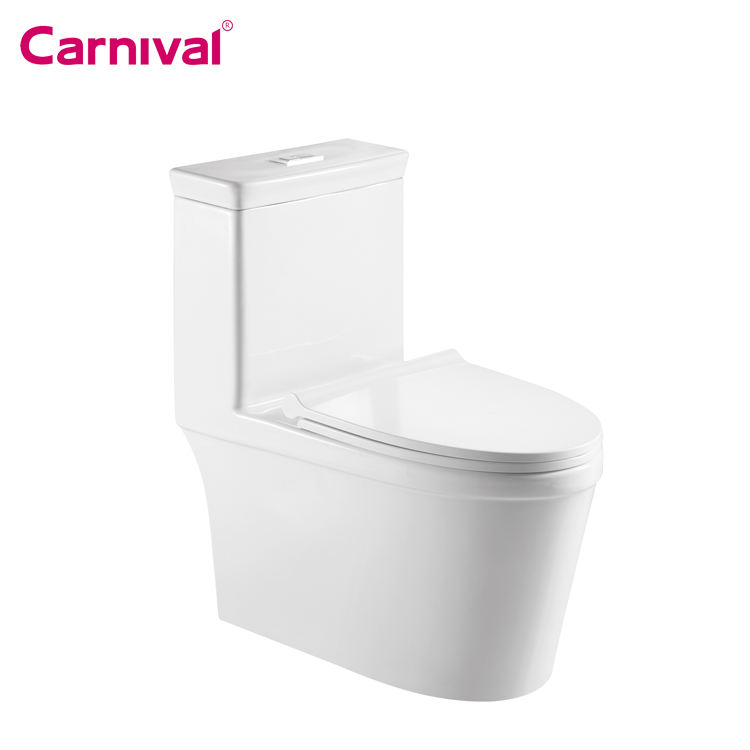 Hot sales high quality Vietnam bathroom design ceramic dual flush siphonic single hole one piece toilet 2188