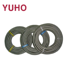 1 inch stainless steel corrugated flexible yellow rubber gas hose pipe