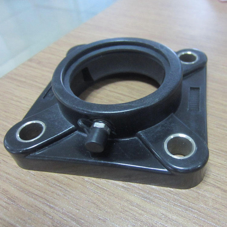 Equipment four holes plastic square bearing pillow