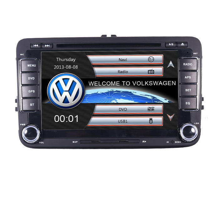 car gps navigation for Volkswagen Golf Passat Tiguan Polo MK5 With 3G Bluetooth Radio RDS USB SD DVD Steering Wheel Control