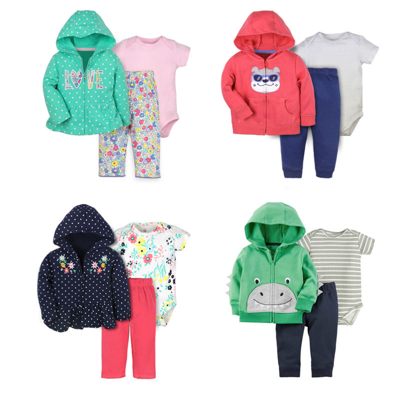 baby gift set pajamas newborn cheap winter baby clothing for boy girl outwear clothing set winter