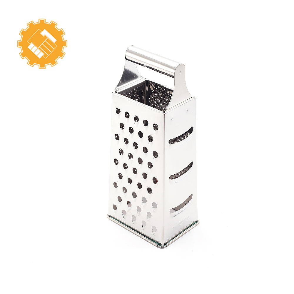 Hot sale in amazon 2017 4 side shaped 9 inch stainless steel hand grater multi wonder grater