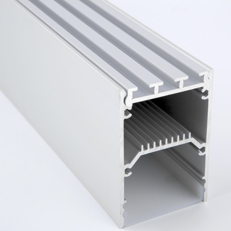 6063 T5 surface pendant drywall mounting track integral led aluminium profiles large aluminium profile extrusion