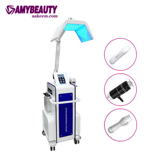 8 In 1 Hydro Dermabrasion Water Jet Machine Facial Care skin diamond facial ultrasonic skin peeling machine